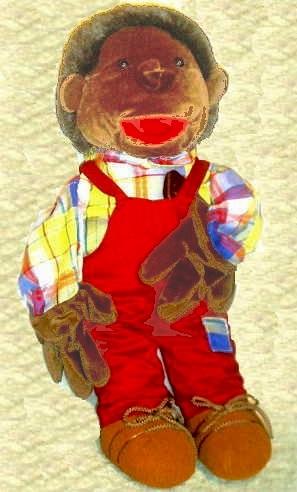 "Die Afrikaner-Puppe ""Ali """