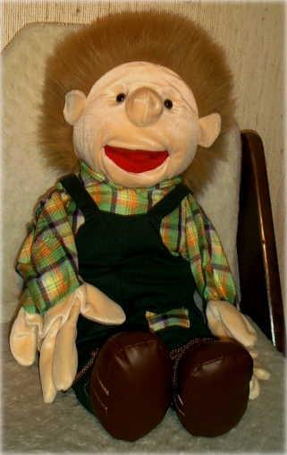 """Die Jungen-Puppe """"Fritz"""""""